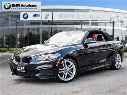 2015 BMW 228i xDrive (Stk: P9146) in Thornhill - Image 1 of 27