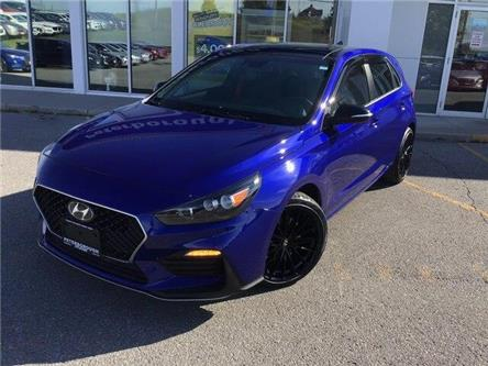 2019 Hyundai Elantra GT N Line (Stk: H12190) in Peterborough - Image 1 of 22
