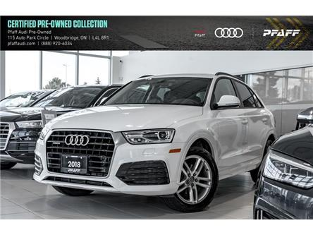 2018 Audi Q3 2.0T Komfort (Stk: C7104) in Woodbridge - Image 1 of 22