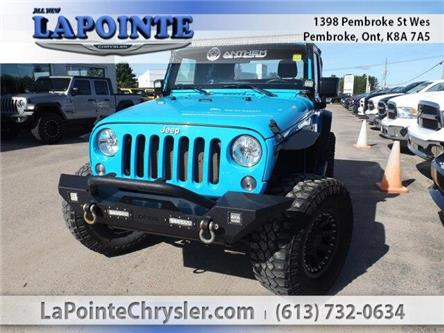 2017 Jeep Wrangler Sport (Stk: 19417B) in Pembroke - Image 1 of 23