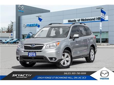 2016 Subaru Forester 2.5i Convenience Package (Stk: P0449) in Richmond Hill - Image 1 of 18