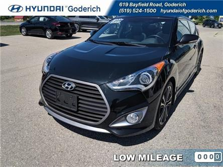 2016 Hyundai Veloster Turbo (Stk: 90131A) in Goderich - Image 1 of 11