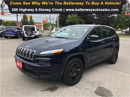 2015 Jeep Cherokee Sport| 4x4| Bluetooth| Pwr seat (Stk: 5476) in Stoney Creek - Image 1 of 22
