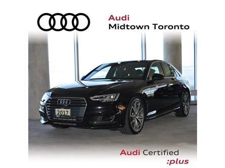 2017 Audi A4 2.0T Technik (Stk: P7418) in Toronto - Image 1 of 30