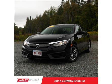 2016 Honda Civic LX (Stk: U5357A) in Woodstock - Image 1 of 10