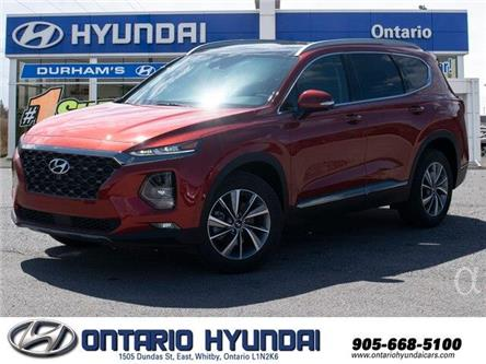 2020 Hyundai Santa Fe Luxury 2.0 (Stk: 139522) in Whitby - Image 1 of 22