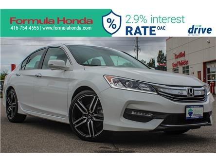 2017 Honda Accord Sport (Stk: B11417) in Scarborough - Image 1 of 28