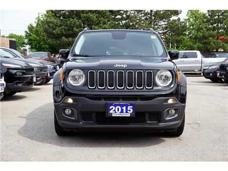 2015 Jeep Renegade NORTH  BLUETOOTH  HEATED SEATS  REMOTE START (Stk: K343A) in Burlington - Image 2 of 38
