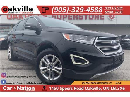 2015 Ford Edge SEL | LEATHER | PANO ROOF | NAVI | B/U CAM (Stk: P12565) in Oakville - Image 1 of 22