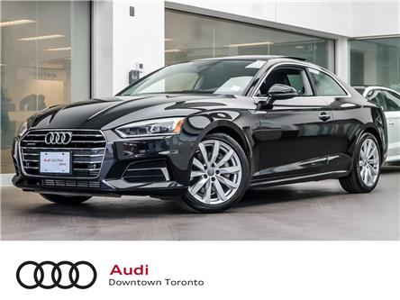 2018 Audi A5 2.0T Progressiv (Stk: P3299) in Toronto - Image 1 of 27
