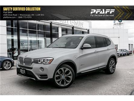 2015 BMW X3 xDrive28d (Stk: 21527A) in Mississauga - Image 1 of 22