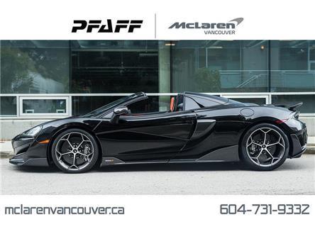 2020 McLaren 600LT Spider (Stk: MV0270) in Vancouver - Image 1 of 22