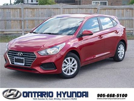 2020 Hyundai Accent Preferred (Stk: 092184) in Whitby - Image 1 of 17
