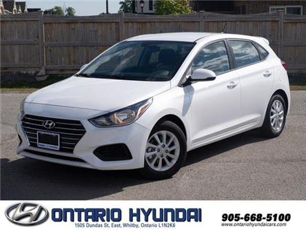 2020 Hyundai Accent Essential w/Comfort Package (Stk: 091664) in Whitby - Image 1 of 18