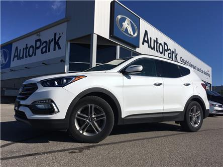 2018 Hyundai Santa Fe Sport 2.4 Luxury (Stk: 18-61693RJB) in Barrie - Image 1 of 30