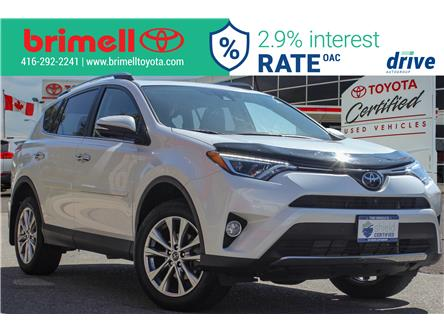 2017 Toyota RAV4 Limited (Stk: 197436A) in Scarborough - Image 1 of 30
