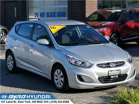 2016 Hyundai Accent GL (Stk: H5294) in Toronto - Image 1 of 27