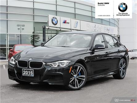 2016 BMW 340i xDrive (Stk: DB5754) in Oakville - Image 1 of 27