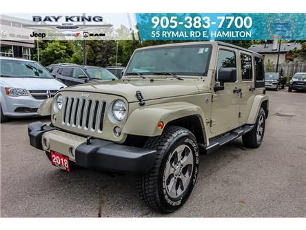 2018 Jeep Wrangler JK Unlimited Sahara (Stk: 6930R) in Hamilton - Image 1 of 21