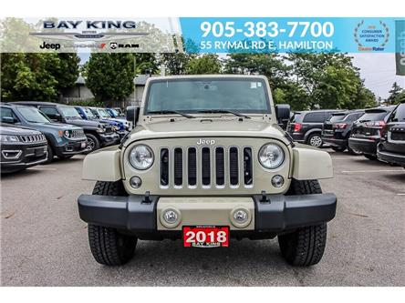 2018 Jeep Wrangler JK Unlimited Sahara (Stk: 6930R) in Hamilton - Image 2 of 21