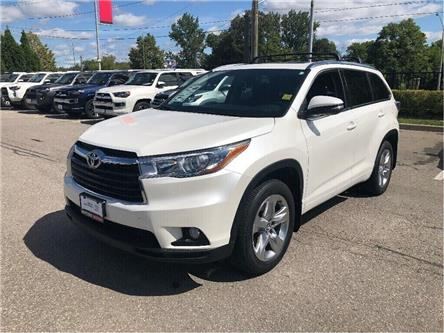 2016 Toyota Highlander Limited (Stk: U2726) in Vaughan - Image 1 of 18