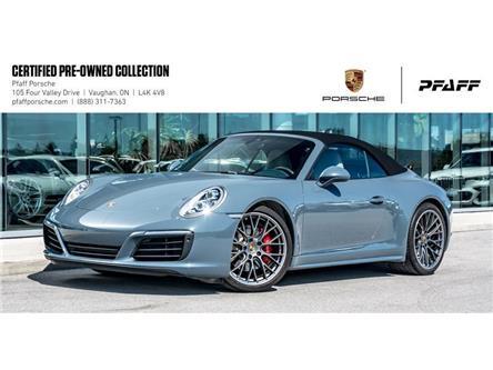 2017 Porsche 911 Carrera 4S Cabriolet (Stk: U8186) in Vaughan - Image 1 of 22