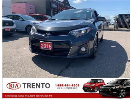 2015 Toyota Corolla  (Stk: 8086A) in North York - Image 1 of 17