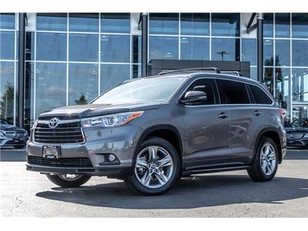2016 Toyota Highlander Limited (Stk: K3914) in Kitchener - Image 1 of 22