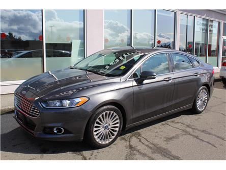 2015 Ford Fusion Titanium (Stk: 9Q9783A) in Nanaimo - Image 1 of 9