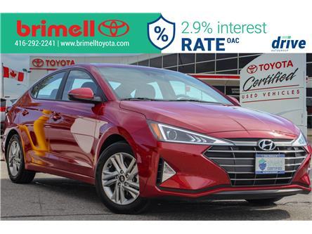 2019 Hyundai Elantra Preferred (Stk: 9975) in Scarborough - Image 1 of 26