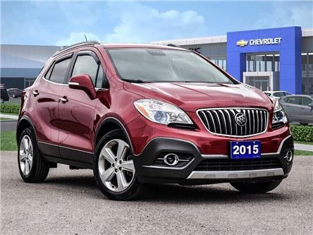 2015 Buick Encore LEATHER-BACK UP CAMERA-SUNROOF-1 OWNER (Stk: 218178A) in Markham - Image 1 of 28