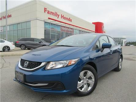 2014 Honda Civic LX | ECO MODE | HEATED SEATS! (Stk: 025785P) in Brampton - Image 1 of 30
