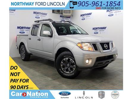 2018 Nissan Frontier PRO-4X | 4x4 | NAV | LEATHER | BACKUP CAM | (Stk: DR506) in Brantford - Image 1 of 39