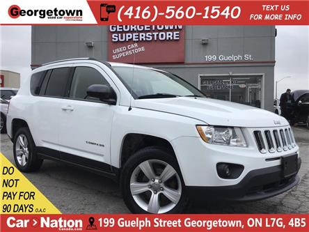 2012 Jeep Compass Sport/North| ALLOYS| FOGS| PWR GRP| CLEAN CARFAX (Stk: SR19180A) in Georgetown - Image 1 of 22