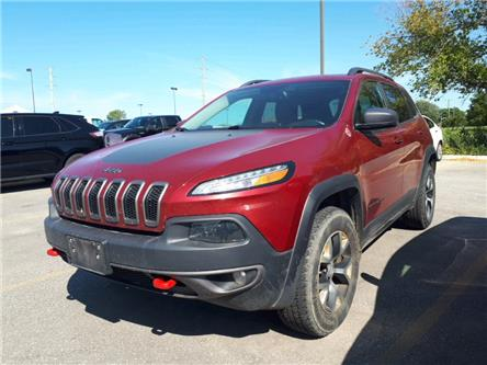 2017 Jeep Cherokee Trailhawk (Stk: HW629037) in Sarnia - Image 1 of 6