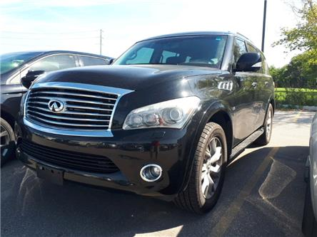 2014 Infiniti QX80 Base 7 Passenger (Stk: E9067543) in Sarnia - Image 1 of 4
