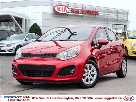 2013 Kia Rio  (Stk: 2433A) in Burlington - Image 1 of 27