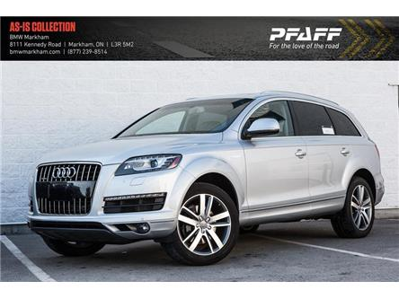 2012 Audi Q7 3.0 Premium Plus (Stk: O12106A) in Markham - Image 1 of 16