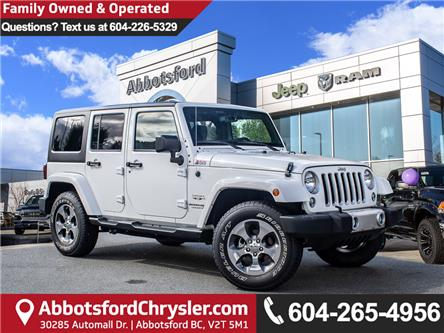 2018 Jeep Wrangler JK Unlimited Sahara (Stk: AB0908) in Abbotsford - Image 1 of 26