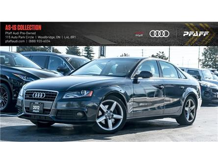 2012 Audi A4 2.0T Premium (Stk: C6901A) in Woodbridge - Image 1 of 19