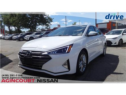 2019 Hyundai Elantra Preferred (Stk: U12623R) in Scarborough - Image 1 of 22