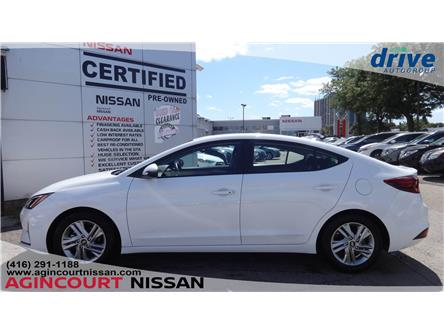 2019 Hyundai Elantra Preferred (Stk: U12623R) in Scarborough - Image 2 of 22
