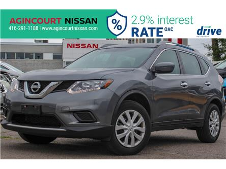 2016 Nissan Rogue S (Stk: KC836226A) in Scarborough - Image 1 of 13
