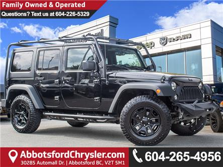 2015 Jeep Wrangler Unlimited Sport (Stk: K440881A) in Abbotsford - Image 1 of 30