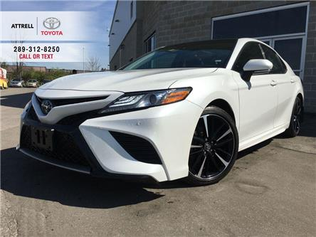 2018 Toyota Camry XSE LEATHER, PANO ROOF, ALLOY, SPOILER, TSS-P, SMA (Stk: 45550A) in Brampton - Image 1 of 28