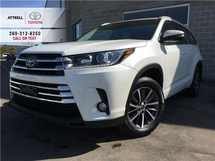 2017 Toyota Highlander XLE AWD LEATHER, SUNROOF, NAVI, ALLOYS, FOG, BSM, (Stk: 45540A) in Brampton - Image 1 of 28