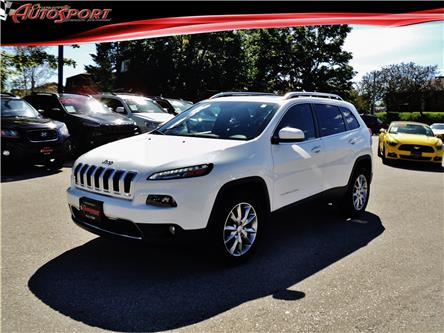 2017 Jeep Cherokee Limited (Stk: 1497A) in Orangeville - Image 1 of 25