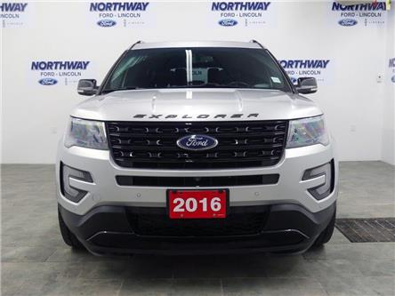 2016 Ford Explorer Sport   AWD   NAV   LEATHER   PANOROOF   3 ROW   (Stk: EC94260C) in Brantford - Image 2 of 48