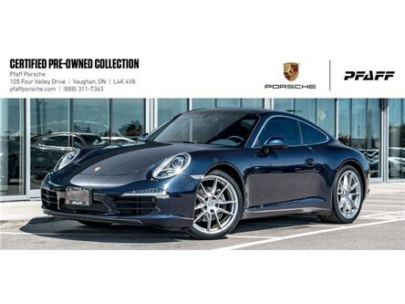 2014 Porsche 911 Carrera Coupe (991) w/ PDK (Stk: U8175) in Vaughan - Image 1 of 22