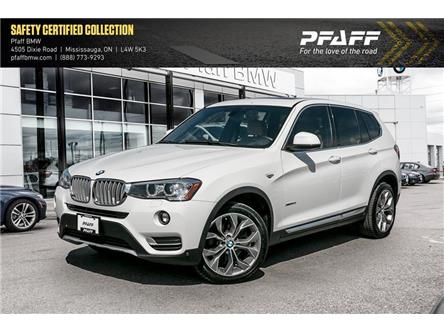 2016 BMW X3 xDrive28i (Stk: U5698) in Mississauga - Image 1 of 17
